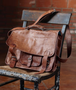 Overlander Leather Bag